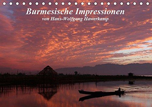 Burmesische Impressionen (Tischkalender 2019 DIN A5 quer): Impressionen einer Reise durch Myanmar (Monatskalender, 14 Seiten ) (CALVENDO Natur) (Mandalay Rock)