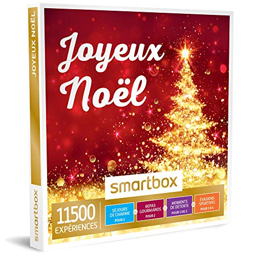 SMARTBOX - Joyeux Noël - Coffret cadeau saisonnier - À choisir parmi 11500...