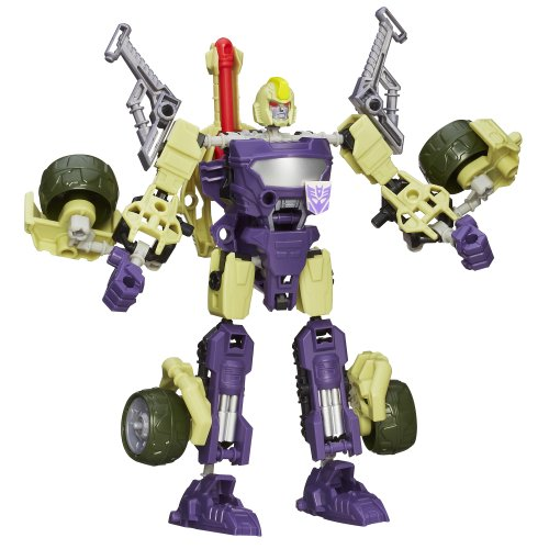 Transformers - A4708 - Construct Bots - 3 in 1 - Blitzwing - 67 Teile - 3-in-1-transformer-spielzeug