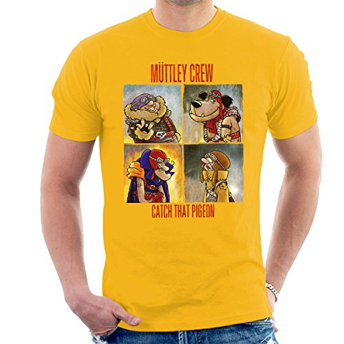Muttley Crew Men's Funny Yellow T-Shirt