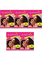 Kohinoor Pleasure Condoms - Pink 10s (Pack of 5)