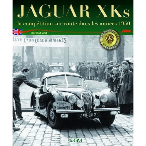 Jaguar XK : La compétition sur route dans les années 1950
