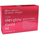 Aroma Magic, Skin Glow Facial Kit Single Use, Natural