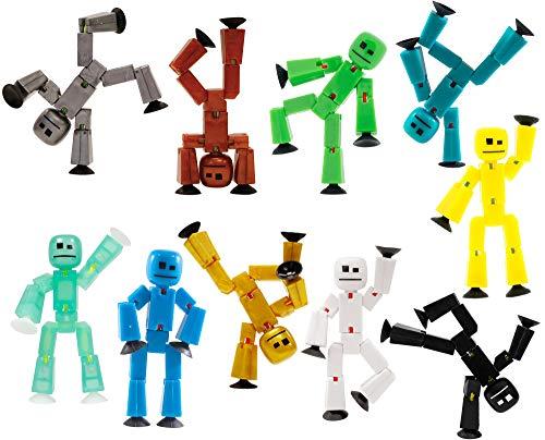 Toy Shed StikBot-Figur, Mehrfarbig, 2Stück