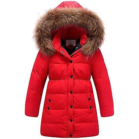 Minetom Bambine E Ragazze Inverno Caldo Giacche Cappotti Impermeabile Cappotti Lunghi Capispalla