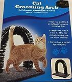 Pet World Cat Grooming Arch - Cat Scratch Post - Cat Massager