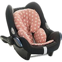 Reductor Antialérgico universal para maxicosi, capazo, silla de coche, silla de paseo Janabebe Pink Star