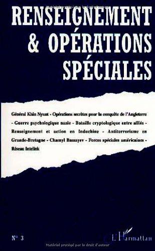 Renseignement et opérations spéciales numéro 3