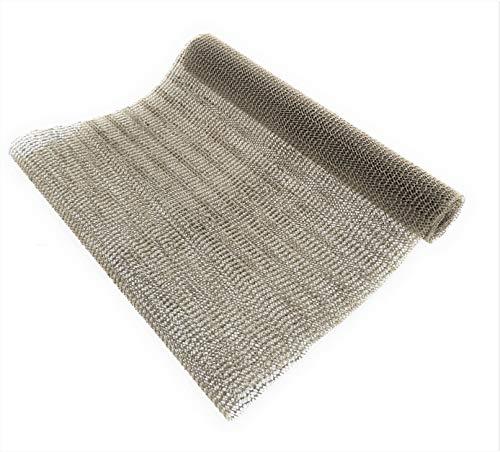 MC Trend Anti-Rutschmatte zuschneidbar Schubladen-Teppich-Geschirr-Besteck-Gläser-Unterlage Kofferraum Auto Camping (1 Anti-Rutschmatte Grau)