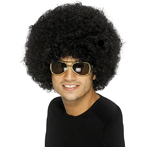 Afroperücke Mega Rasta Afro Perücke für Party Karneval und als Kostüm - XXL Volumen! (Afro Perücken Billig)