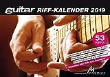 guitar-Riffkalender 2019: Wochenkalender