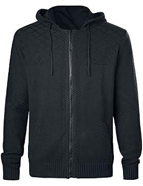 Jack Daniel's Sweatshirt Black Hoodie Back Embroid Black