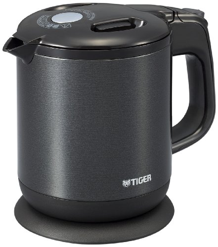 Tiger steam-less Electric Kettle wakuko 0.6 Liters Pearl Black pch-g060-kp by Tiger