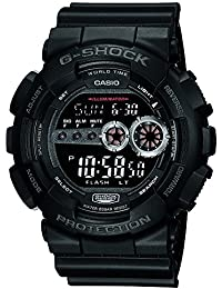 Casio G-Shock Digital Black Dial Men's Watch - GD-100-1BDR (G310)