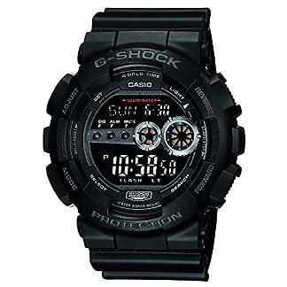 Casio G-Shock Digital Black Dial Men's Watch – GD-100-1BDR (G310)