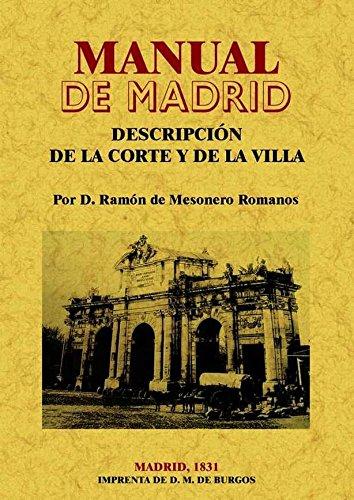 Descargar Libro Manual de Madrid de Ramón de Mesonero Romanos