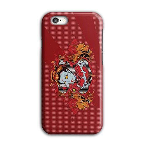 Drachen Monster Zombie Teufel Frau iPhone 6 / 6S Hülle | (Kostüm Vogelscheuche Eine Frau)