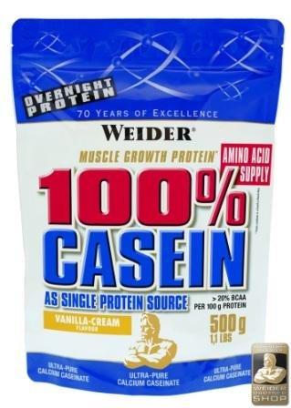 Weider 100% Casein* 2 x 500g Beutel 2er Pack Chocolate-Cream