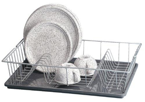 Metaltex 320645 - Escurreplatos Colonia con bandeja, 48 x 30 cm