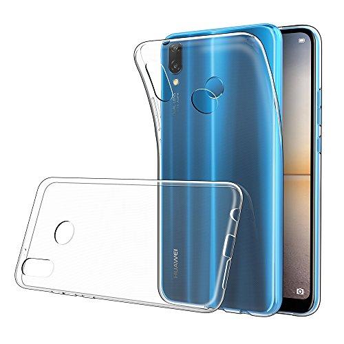 nuovo stile 76fd3 0a3d8 Simpeak Cover compatible per Huawei P20 Lite, Custodia Chiaro Cristallo  Liquid Crystal Estremamente Sottile & Puro Trasparente - Custodia Huawei  P20 ...
