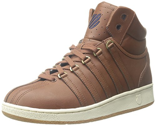 K-Swiss Classic Vn Mid, Baskets Basses homme Marron