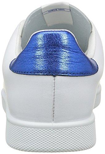 Victoria Deportivo Basket Piel, Sneakers Basses mixte adulte Bleu (Capri)