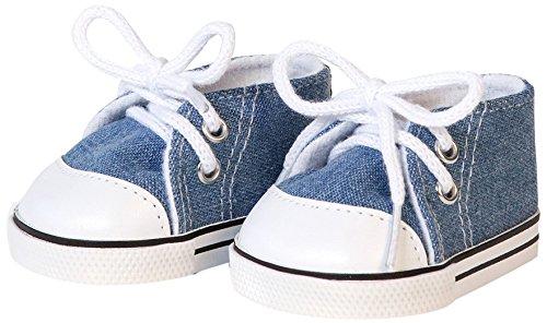 Bayer Design - Zapatos para muñecas, color azul (73107)