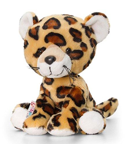 Preisvergleich Produktbild Plüschtier Leopard Spots, Raubkatze Kuscheltier Pippins ca. 14 cm