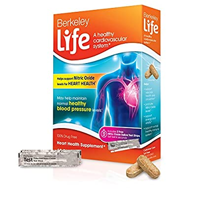 Berkeley Life - Nitric Oxide Heart Health - 60 Tablets by Berkeley Life