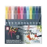 NEU Koi Coloring Brush Pen, 12er Set
