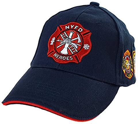 Casquette pompier new york ny americaine us usa brodée nyfd policier