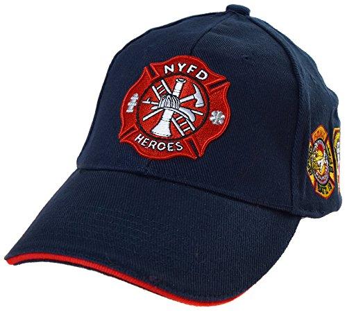 Topt mili Casquette Pompier New York NY Americaine us USA brodée nyfd Policier