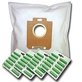 40 Staubsaugerbeutel + 40 Duftstäbe geeignet für Philips PowerLife Parquet Care 2000 Watt, FC8320/09,FC8321/09,FC8322/09