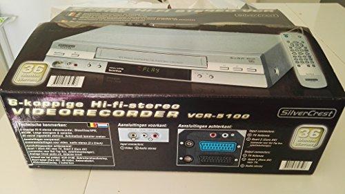 magnetoscope-vhs-silvercrest-vcr-5100-6-tetes