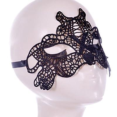Neue übertriebene Damen sexy sexy Spitzen Maske Tanzpartys