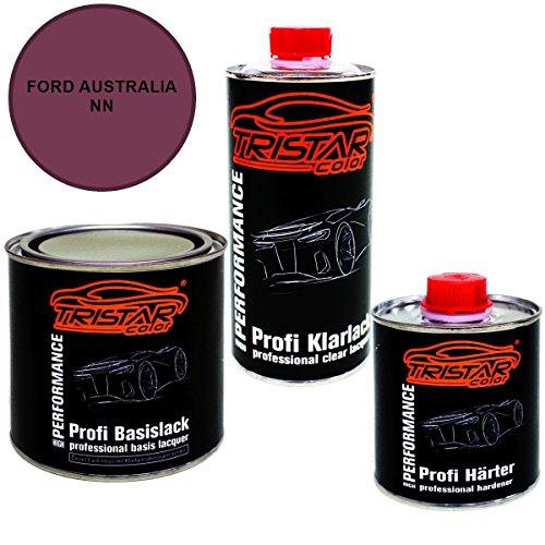 Preisvergleich Produktbild 1,25 Liter 2K Lack Set FORD AUSTRALIA NN MENACE P. M. 2005 - 2006 - Profi Autolack spritzfertig & Klarlack & Härter