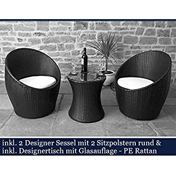 rattan lounge rund | ambiznes.com - Gartenmobel Set Rund