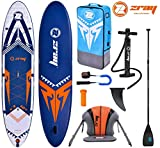 Zray X-Rider X3 12.0 SUP Board Stand Up Paddle Carbon Mix Paddel Kajak-Sitz Paddel Leash 365x81x15cm
