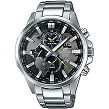 Casio Edifice–Reloj de pulsera analógico de cuarzo, Acero inoxidable, EFR-303D-1AVUEF