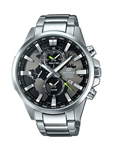 Casio Herren-Armbanduhr Edifice Analog Quarz Edelstahl gebraucht kaufen  Wird an jeden Ort in Deutschland
