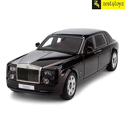 Zest-4-toyz-124-Scale-Die-Cast-Rolls-Royce-Phantom-Pull-Back-Sedan-with-Blinking-LightsAssorted