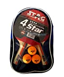 #8: Stag 4 Star Table Tennis Kit
