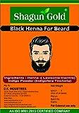 #10: Shagun Gold Beard black color cover your Gray Mustache For Men 100gm
