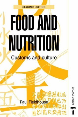 Food and Nutrition - Customs and Culture Second Edition by Paul Fieldhouse (1998-01-12) par Paul Fieldhouse;