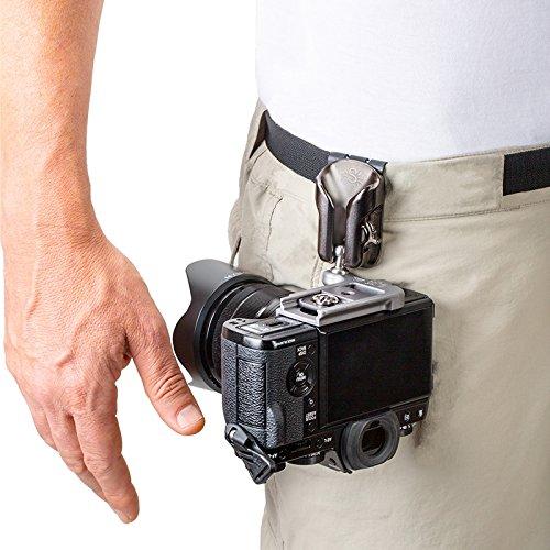 Spider Light Camera Holster Box Set Hüft-Tragesystem mit Holster und Kameraplatte für eine spiegellose Kamera oder kleine DSLR