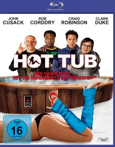 Hot Tub - Der Whirlpool ist 'ne verdammte Zeitmaschine - Extended Cut [Blu-ray]