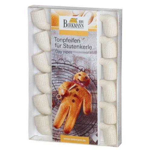 Birkmann 330283 Tonpfeifen für Stutenkerl
