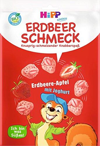 Hipp Ella Eichörnchen´s Erdbeerschmeck 8 x 7g