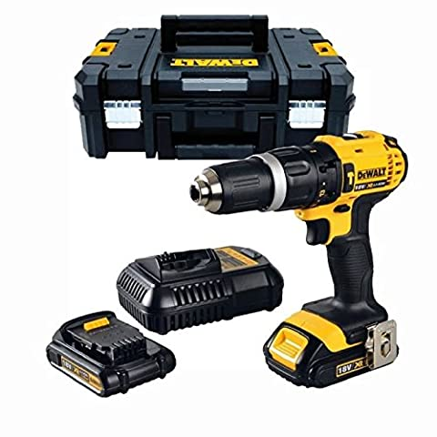 Dewalt DCD776S2T 18v Lithium Combi battery Drill (latest TSTAK system) with 2 batteries