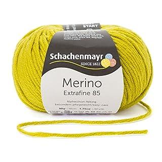 Schachenmayr Merino Extrafine 85 9807554-00274 anis Handstrickgarn, Schurwolle